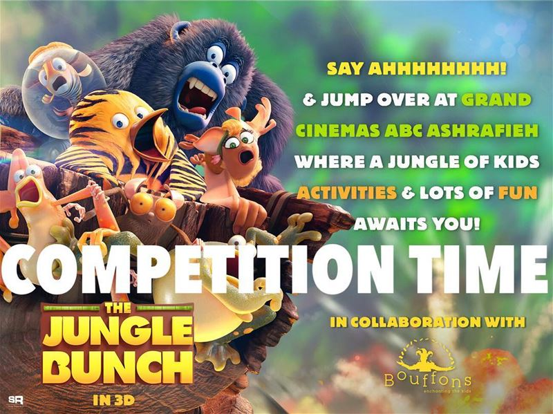 Win exclusive movie tickets to watch the avant Premiere of THE JUNGLE... (Grand Cinemas Lebanon)
