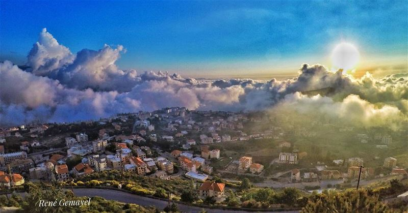 Above the clouds ehden💛 livelovelebanon  liveloveehden  goprome ...