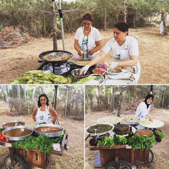Off the beaten path… Last week, the ladies of Tawlet Souk el Tayeb cooked...