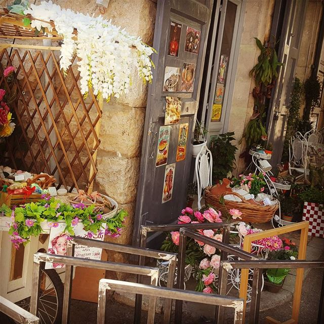 Colourful Douma.. douma beautiful village flowers colors cafe ...