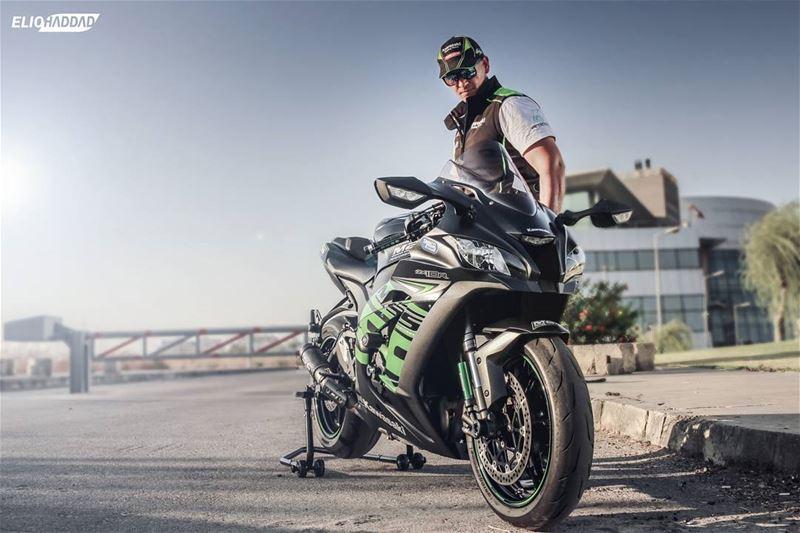 Kawasaki Ninja kawasakininja Bike Green ...