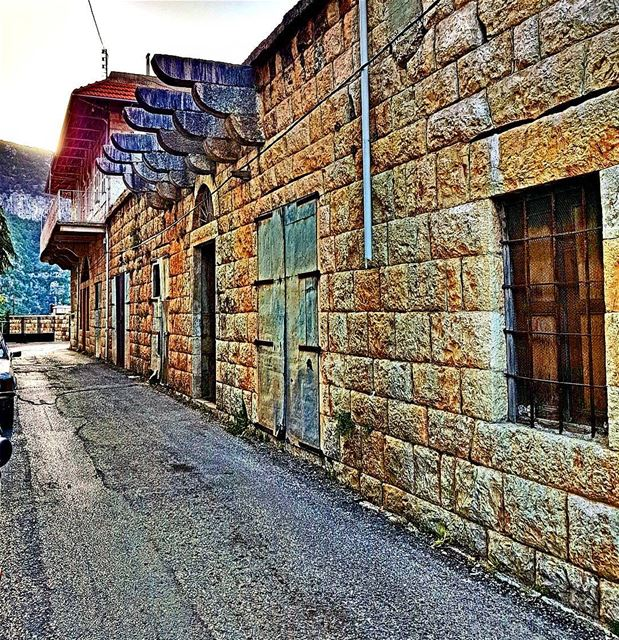 The old roads of Douma old road douma village kings_villages ... (Douma, Liban-Nord, Lebanon)