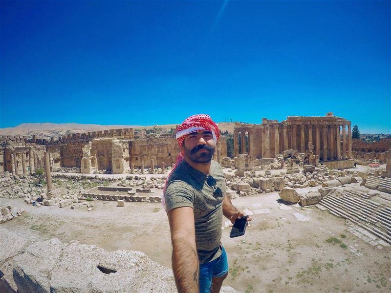 I am standing where:- AlexandreTheGreat used to meet his boyfriend... (Baalbek, Lebanon)