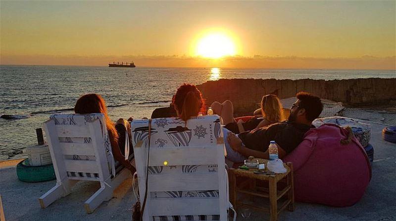 Best views @bahsarooftop 🌅 letstalkaboutlebanon bahsa view ... (Bahsarooftop)