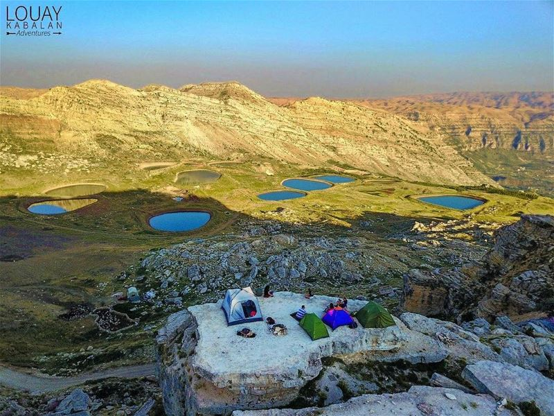 camping is the answer ⛰⛺️by: @louaynemerkabalan  lebanon  lebanon_hdr ... (Akoura, Mont-Liban, Lebanon)