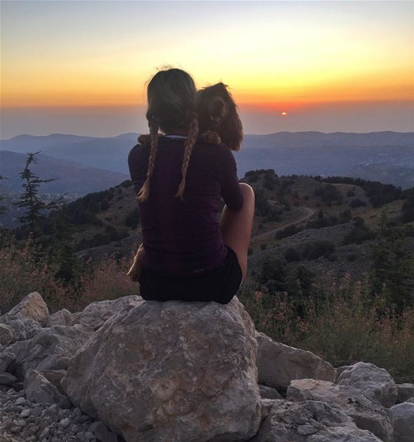 My favorite time of the day with my friend. Probably the best friend I... (Chouf)