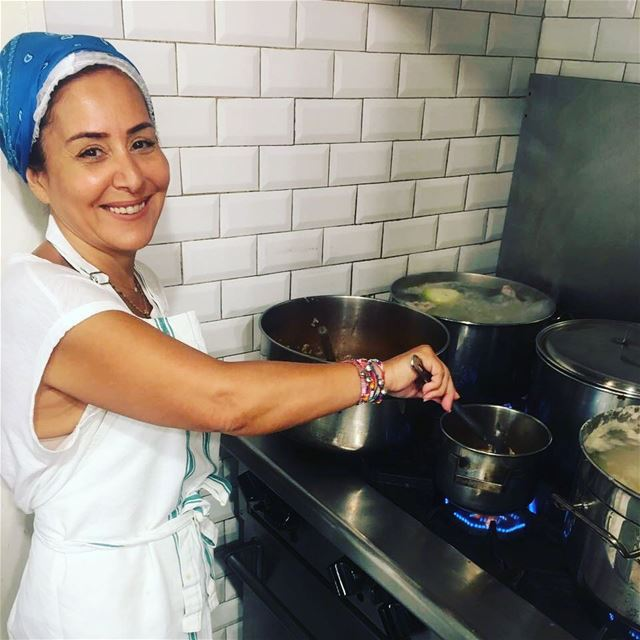 Her heart is as sweet as her smile...Fadia Shaptini our cook for today at...