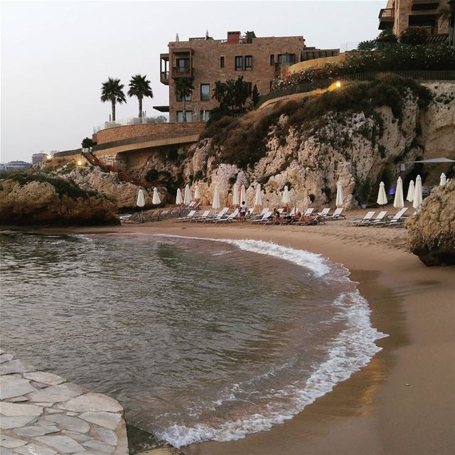Escape morningmotivation morningsun sea sun sands beach private ... (Byblos, Lebanon)
