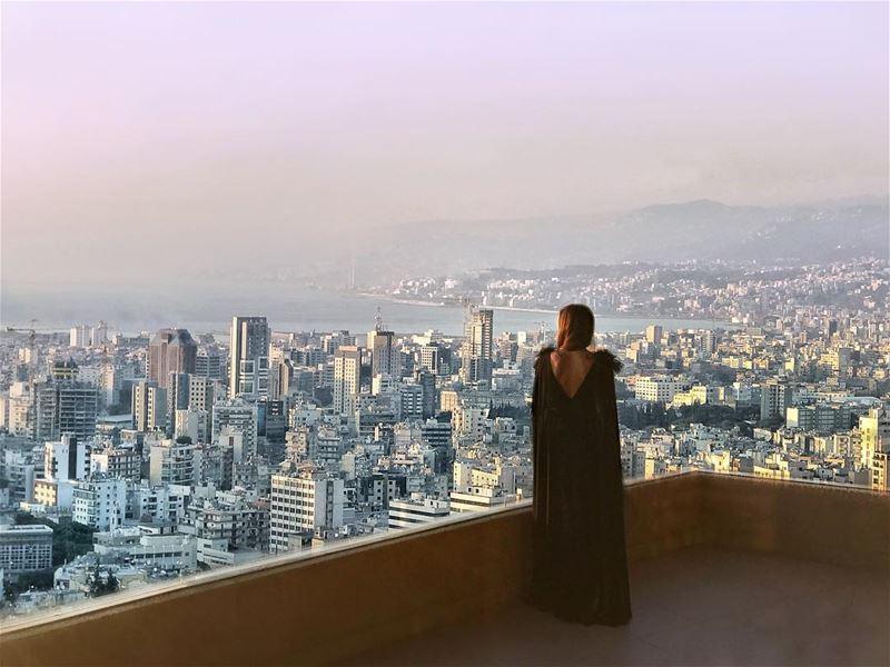 When in Beirut, beauty meets!.....Taken @djiglobal @angelinasamaha .... (Hilton Beirut Habtoor Grand)