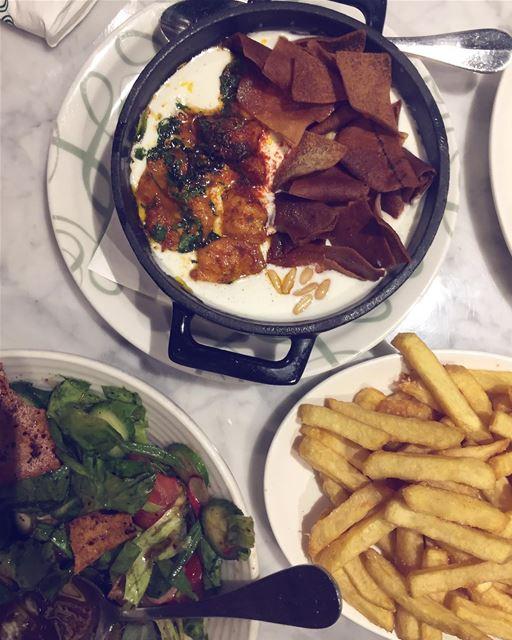 The Shrimp Fatteh always wins at @abdelwahabrest 🍤 ... igers vsco jj... (Abd El Wahab Abc)
