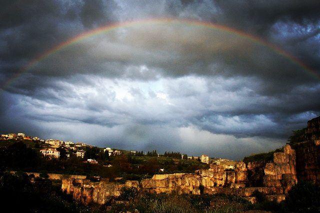 history culture phoenix phoenician rainbow time onceuponatime ... (Al Hbabiyah, Liban-Sud, Lebanon)