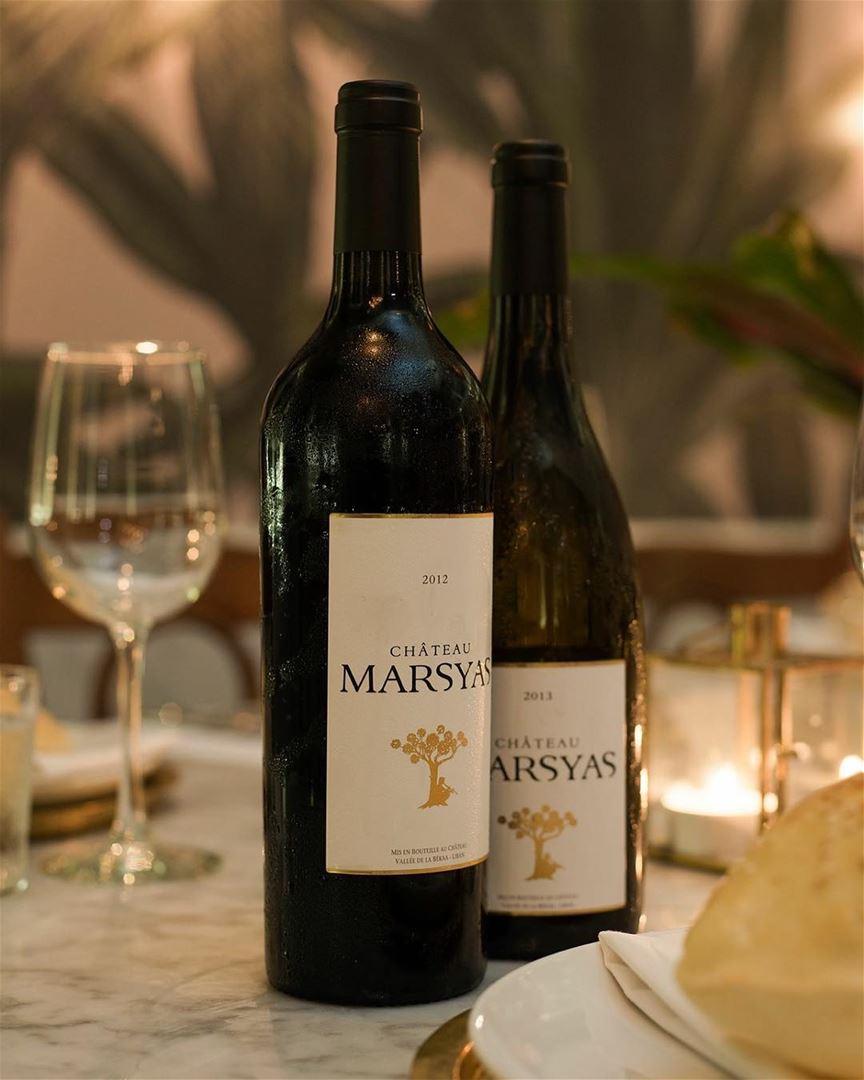 Vinho libanês para terminar o dia! Château Marsyas @chateaumarsyas é uma... (Liza Beirut)