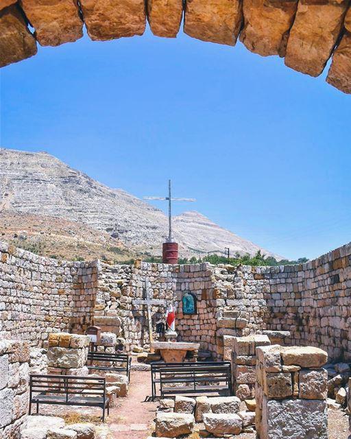 The Historical Church of Saint Elias in Ehden 🙏🏻 where each & every... (Ehden, Lebanon)