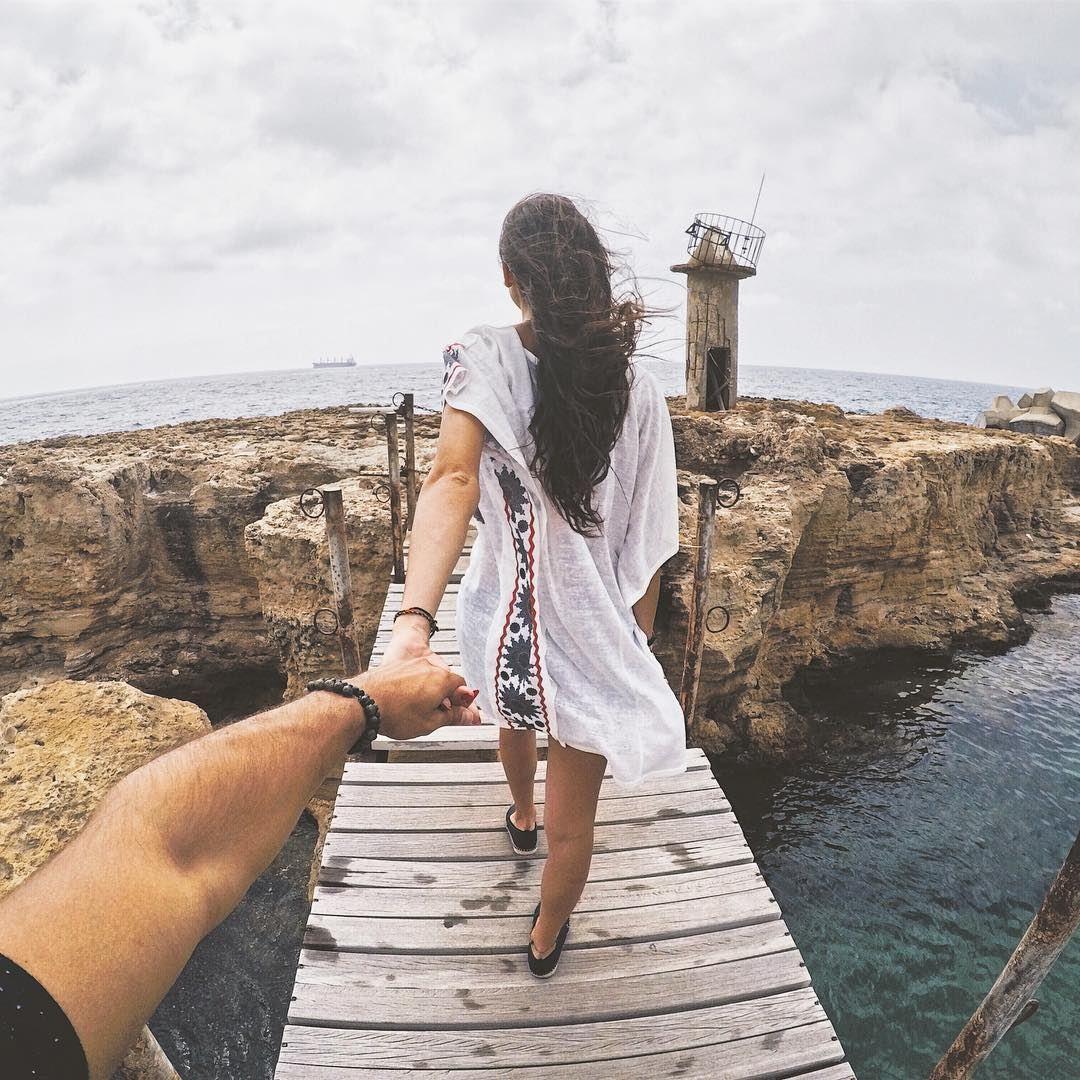 على موج البحر..... followmeto followme batroun lebanon summer ... (Mina-batroun)