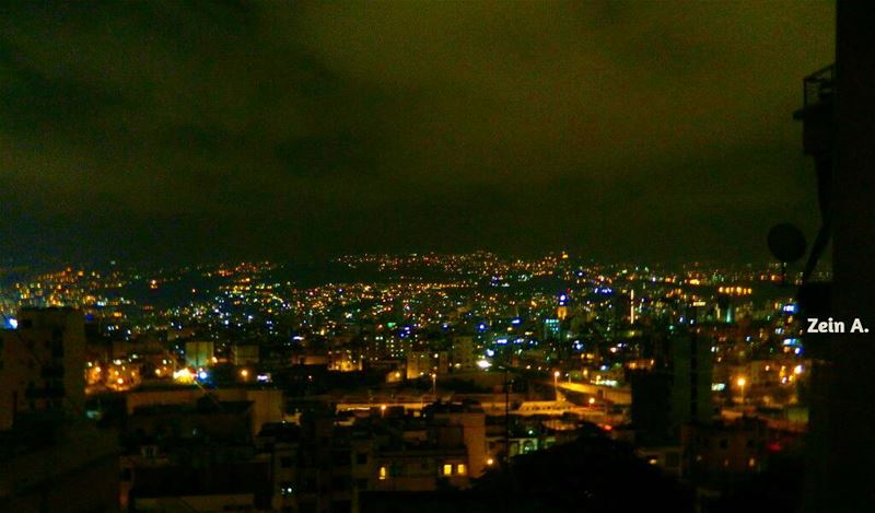 lights mountains alive nightview night photography ... (Rmeil Ashrafieh)