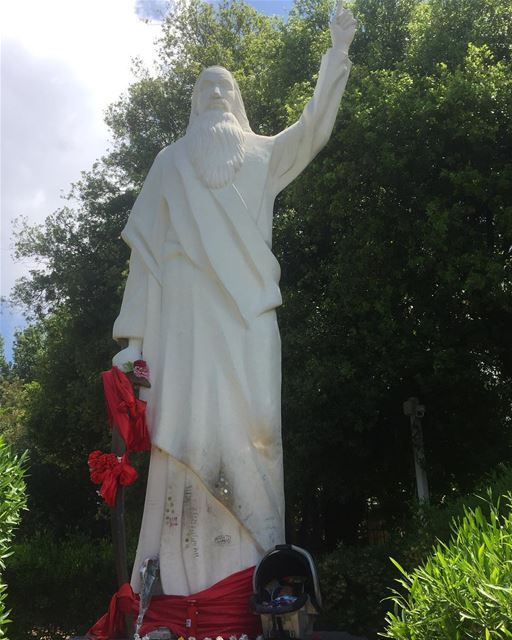 saintelias ig_lebanon instalike saint feastday insta_lebanon ... (Mar Elias jeita)
