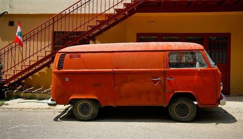 Das Auto lebanon ❤❤ (Akoura, Mont-Liban, Lebanon)