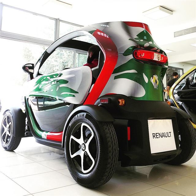 Launching the Renault Twizy + Test Drive @renaultlebanon100% Electric -... (Bassoul-Heneine sal)