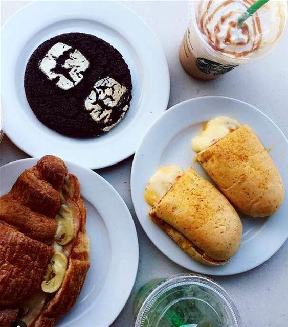 Best morning 😍😋❤️ letstalkaboutlebanon foodlover delicious starbucks... (Starbucks)