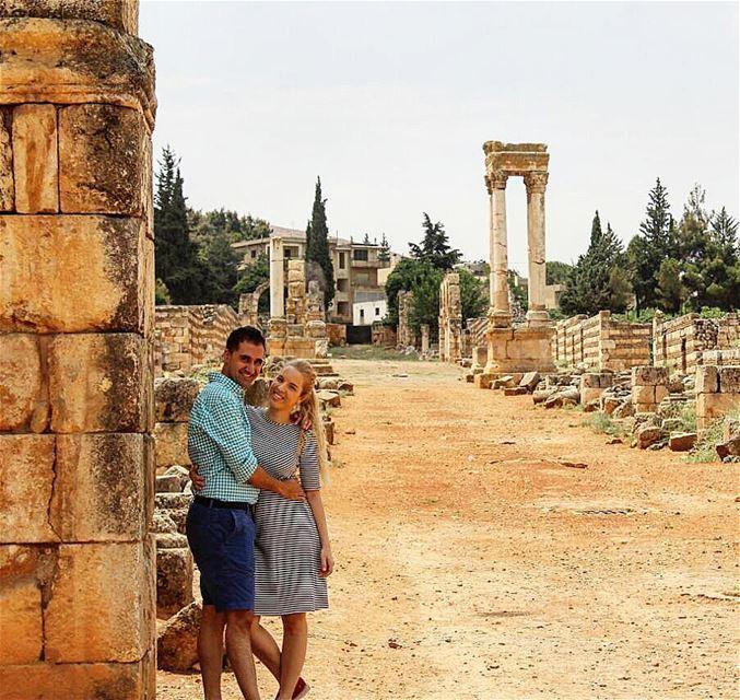 📍🇱🇧 mom & dad anjar lebanon husbandandwife williamandmilica ... (`Anjar, Béqaa, Lebanon)