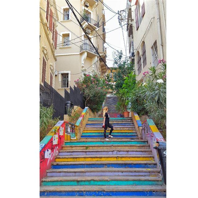 📍🇱🇧 Armenian street beirut lebanon armenianstreet travel ... (Beirut, Lebanon)