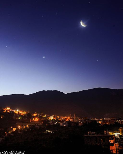Venus is one of the five planets easily visible to the naked eye,... (Arabsalim, Lebanon)