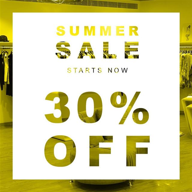 Summer Sale starts today 30% OFF on all your favorite Italian wear,... (Sketch)