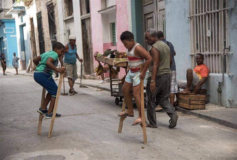 Street games .... shot in havana cuba instacool instagood havanatwist...