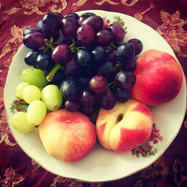 lebanon beirut heaven fruit colour peach grapes ...