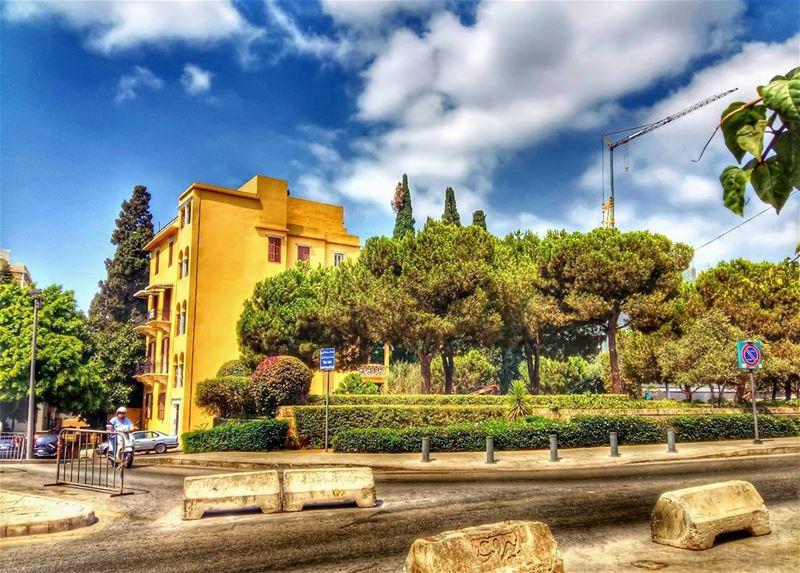 💚 lebanon beirut city citylife cityscape citywalk lovemycity street... (Beirut, Lebanon)