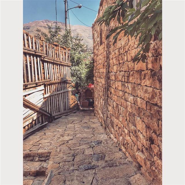 When in the streets of baakafra👣 ❤️ (Bekaa Kafra)