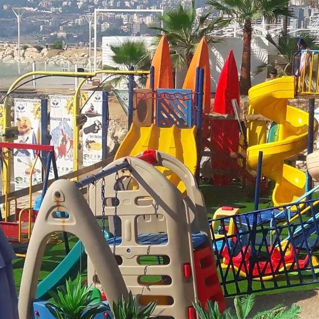 kidsplayground waterplayground lamedinabeach lamedinajounieh jounieh ...