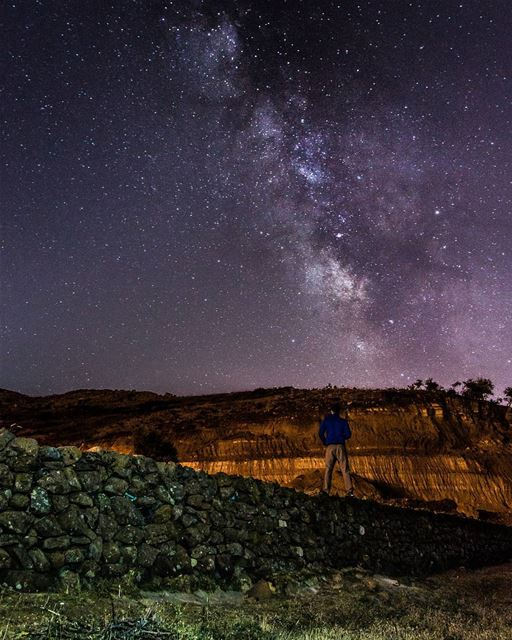 Never stop looking up🌌🌌..... night nightsky nightphotography... (El Laqloûq, Mont-Liban, Lebanon)
