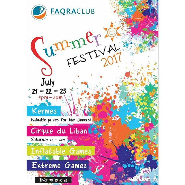 See you tomorrow groupez faqra faqraclub summerfestival kermes ... (Faqra Club)
