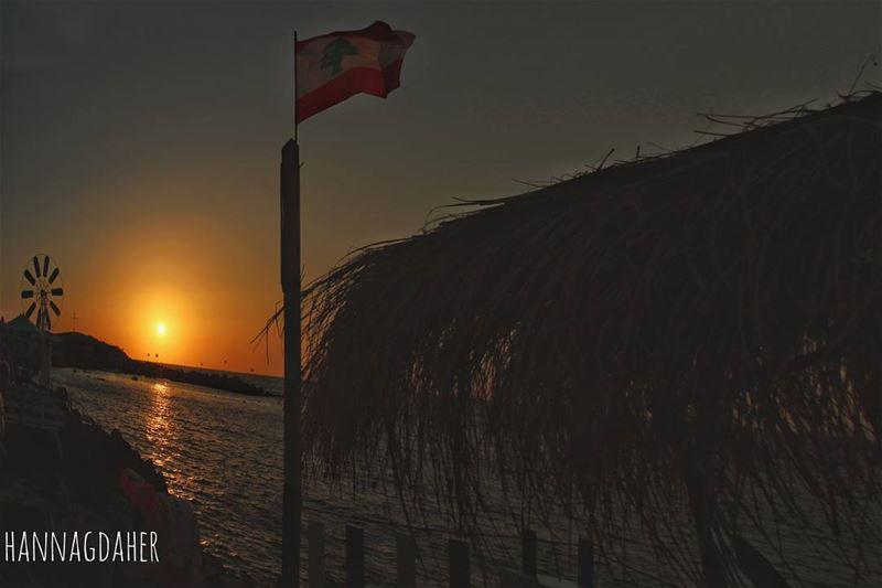 sunset sunsetlover anfeh anfe northlebanon lebanon ... (Wassim 3al Ba7er)