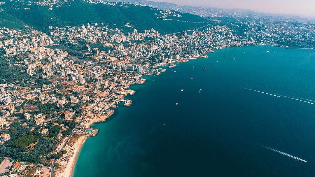 The beautiful bay of Jounieh lebanon livelovejbeil livelovejounieh ... (Joünié)