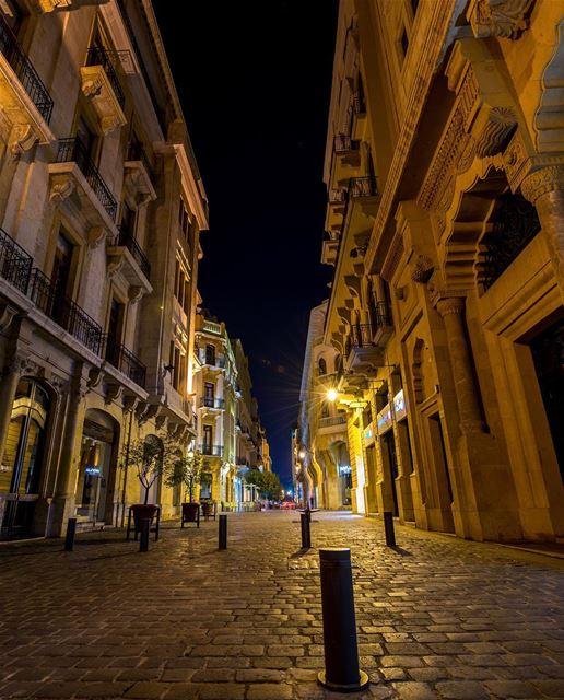 As charmosas ruas do centro de Beirute são convidativas para uma caminhada... (Downtown Beirut)