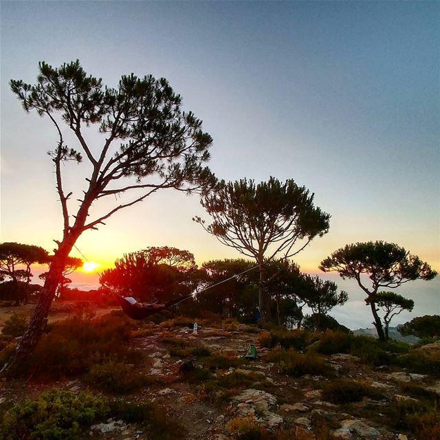 Sweet summer chills 🗻🌅... (Bikfaïya, Mont-Liban, Lebanon)