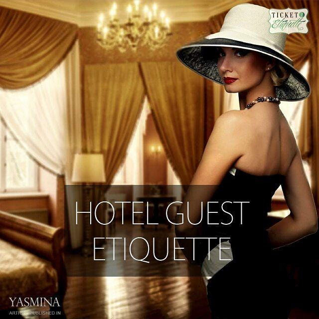 Vera on etiquette rules for hotel guests with @gracytta in @yasminadotco (Beirut, Lebanon)