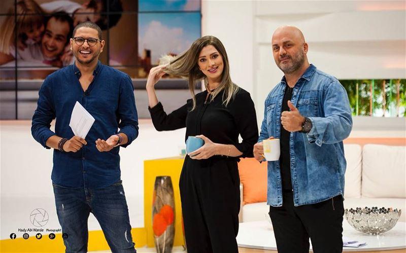 التلفزيون_العربي صباح_النور Staytuned Morning TvShow ... (50 Frames Studios)