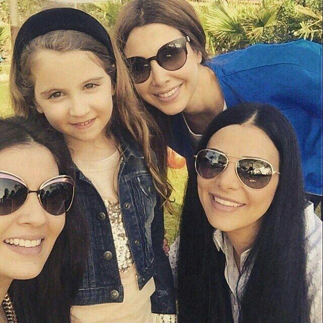 Princess Nancy and Mila ❤ regram @mila_al_hashem milaalhashem ...