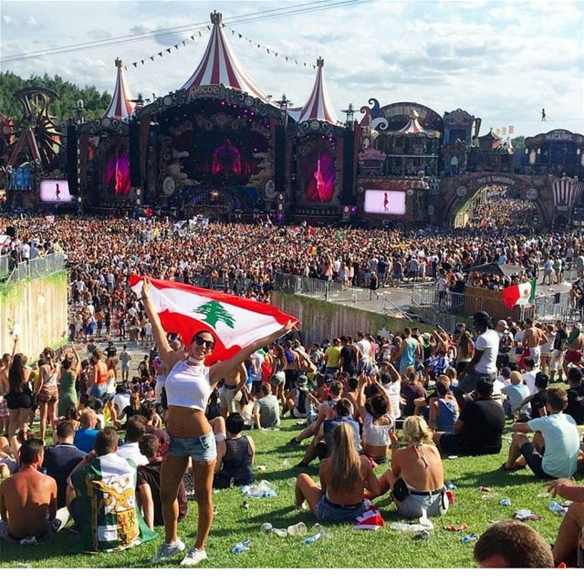 One more week till Tomorrowland Lebanon!🎤💃 regram@whatsuplebanon @tomorro