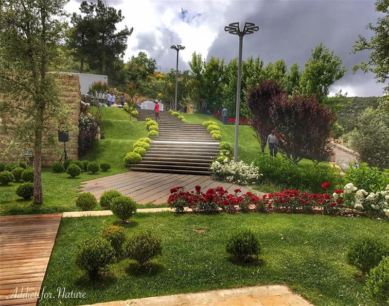 To plant a garden is to believe in tomorrow .... lebanese ... (Chouf)