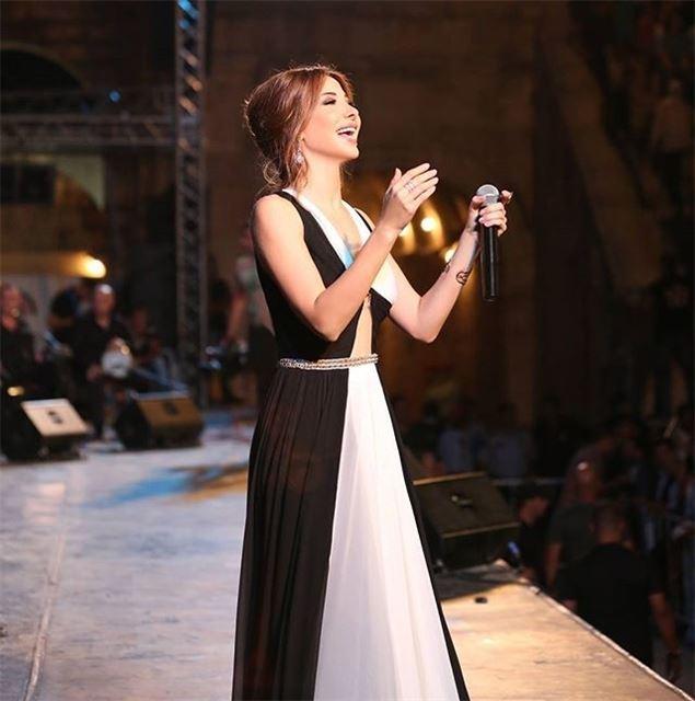 Jarash tonight... 📷 nancyajram nancy9 hassabeek jordan singer ...
