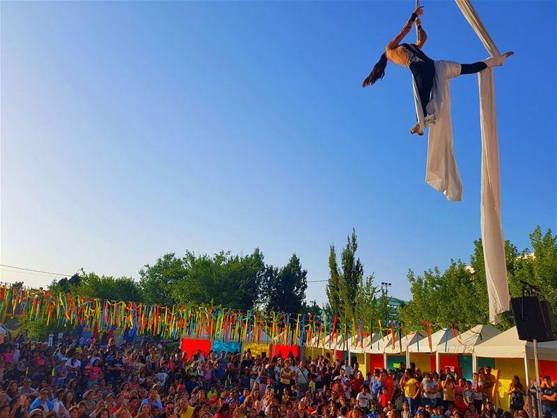 Faqra Club summer festivalFull house faqraclub summer festival ... (Faqra Club)
