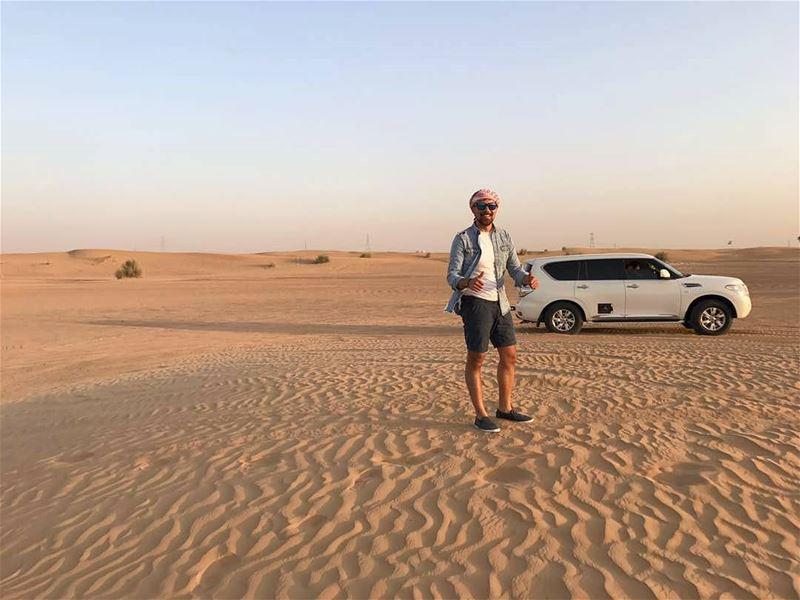 Good Morning 🙋♂️__________________________________________ whenindubai... (Arabian Adventures Desert Safari, Dubai)