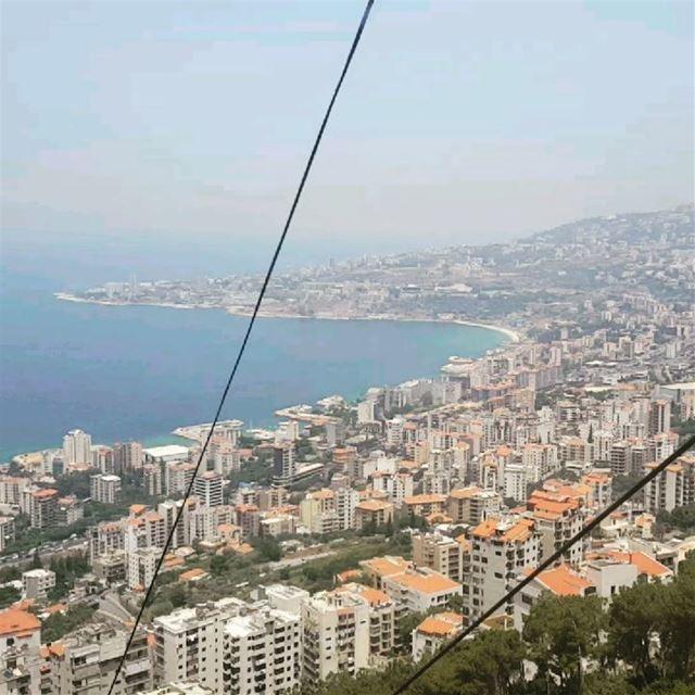 🇱🇧📍 telefrique lebanon harisa jounie telefrique_harisa theview ... (Telefrique-Harisa)
