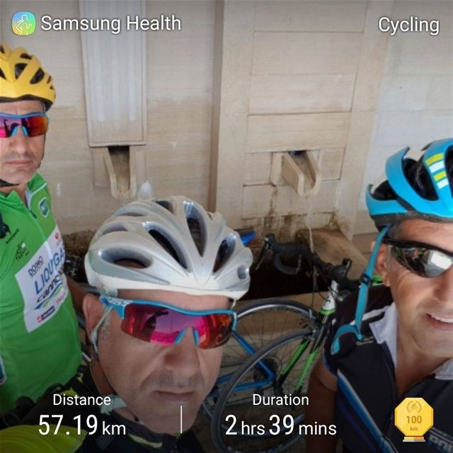 cyclinglife cycling cyclingday crazycompany bestcompany hanounhd ... (Aintoura - El Maten)