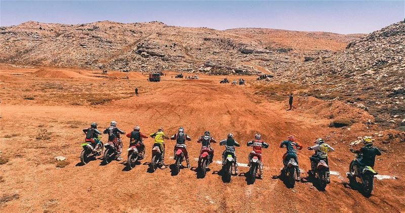 Gentle Men start your Engines  motorcrosslebanon  summer  soukelakel ... (Tannourine Cedars Nature Reserve)