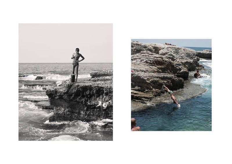 35mm fujifilm beirut mediterranean sun lebanon summer xpro2 ... (Beirut, Lebanon)